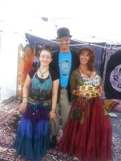 Thaddeus with the Lindz & Michele