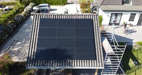 Tuinhuis met schuin dak
