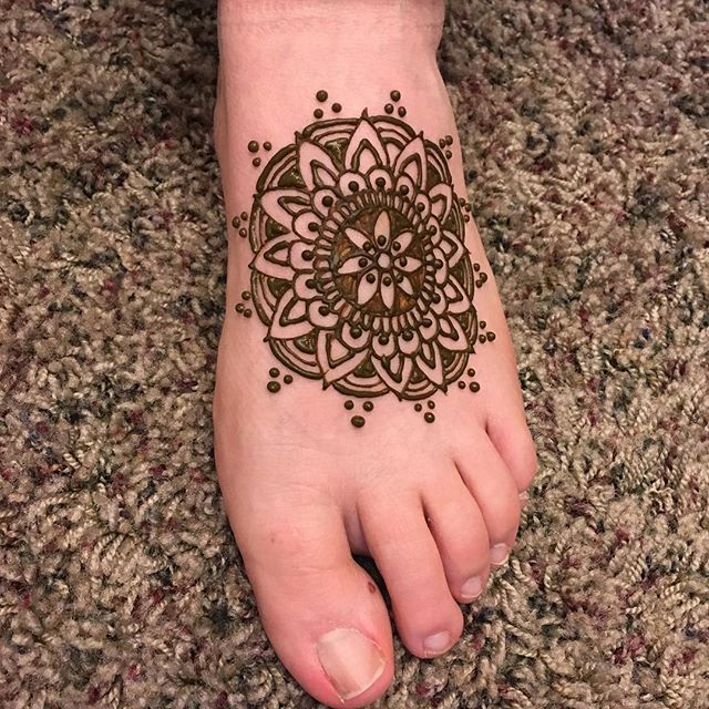 Nothing's better than a foot Mandala!_