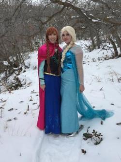 Anna and Elsa Frozen Party Utah