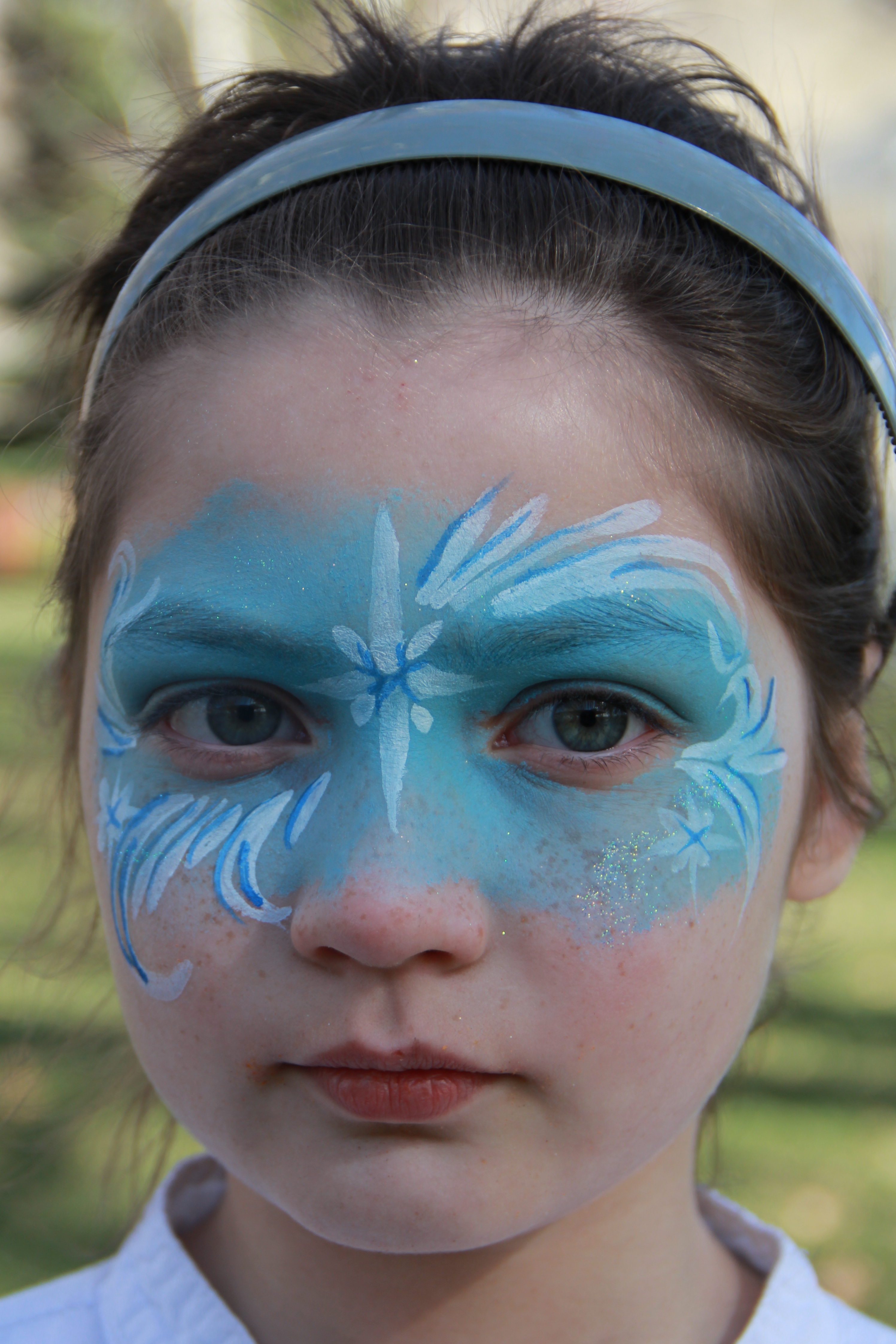 Frozen Jay Mask Face Painting
