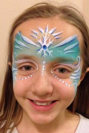 Frozen Tribal Face Painting