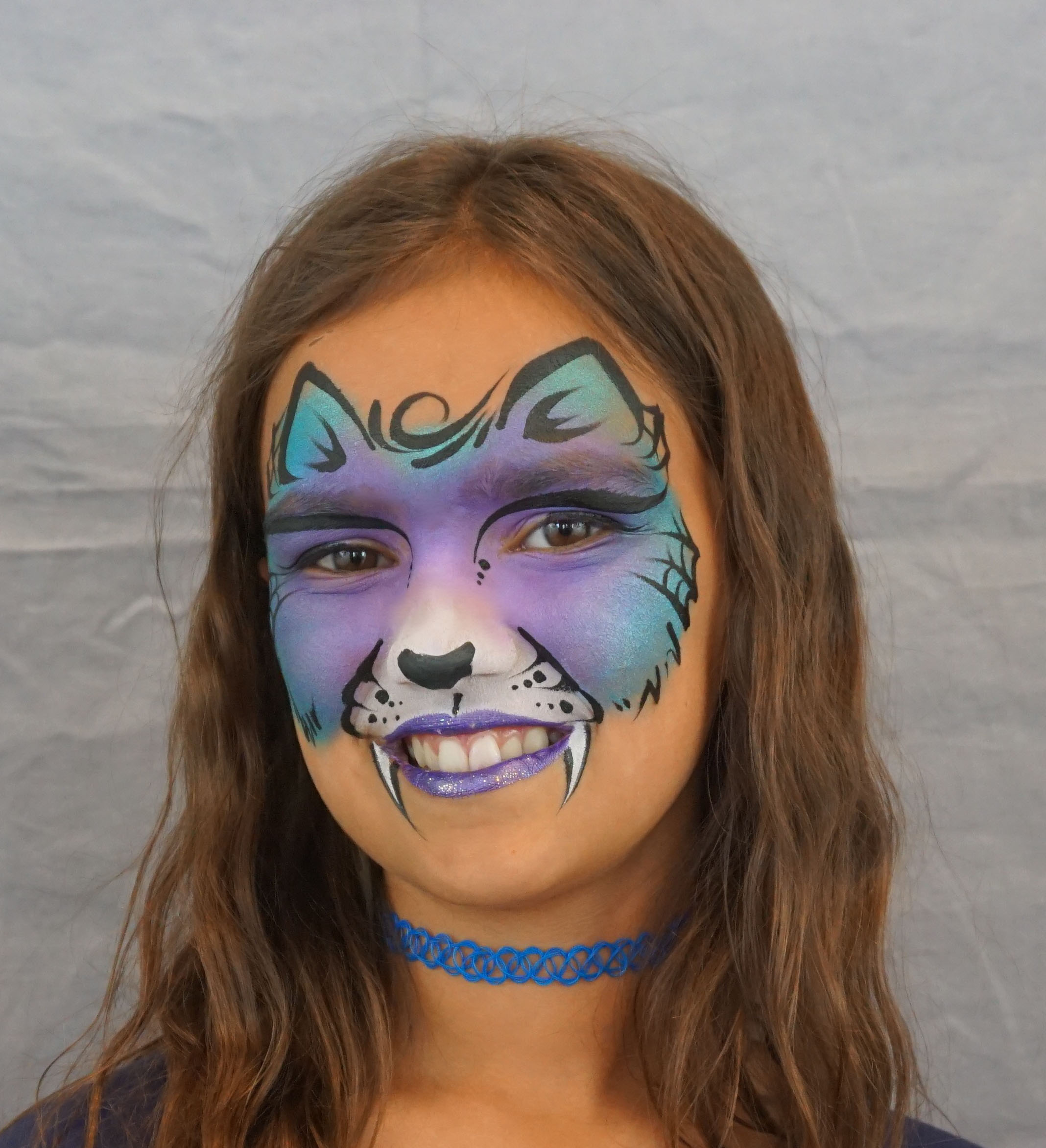 Kitty cat face paint