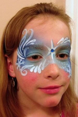 Frozen Jay Face Painting