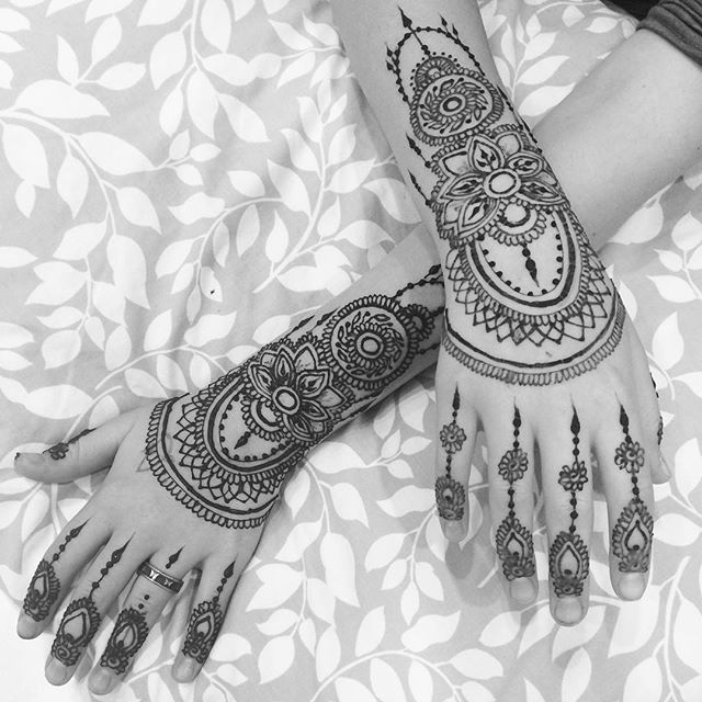 Vacation henna