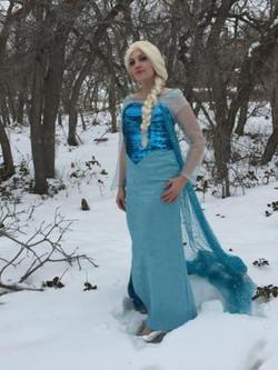 Elsa Frozen Party Face Painting