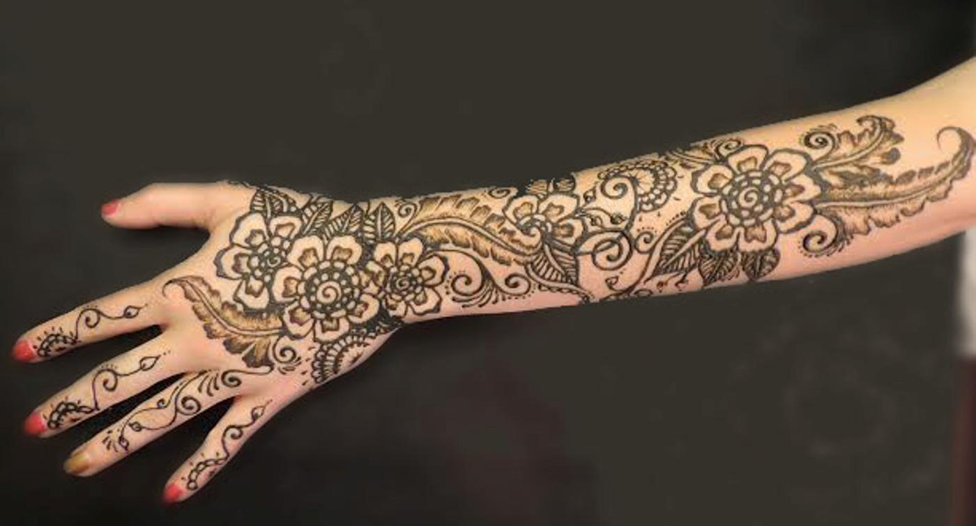 Henna Full Arm