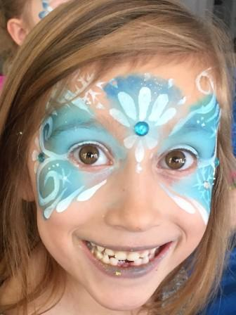 Frozen Mask with Gem Frozen Party