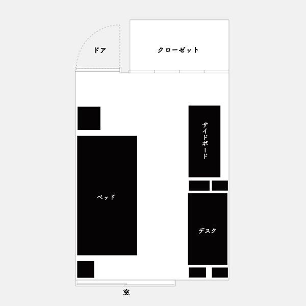 6畳平面図