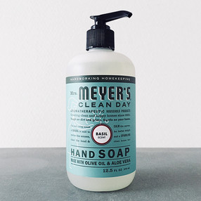 Mrs.MEYER'S HAND SOAP (BASIL)