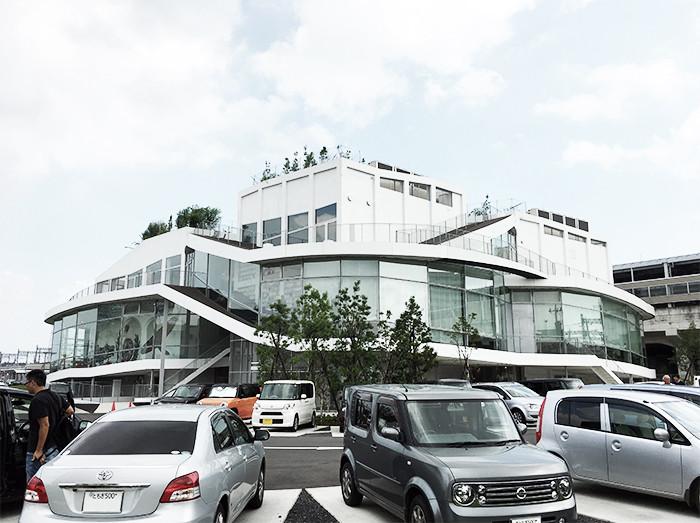 太田市美術館・図書館 外観