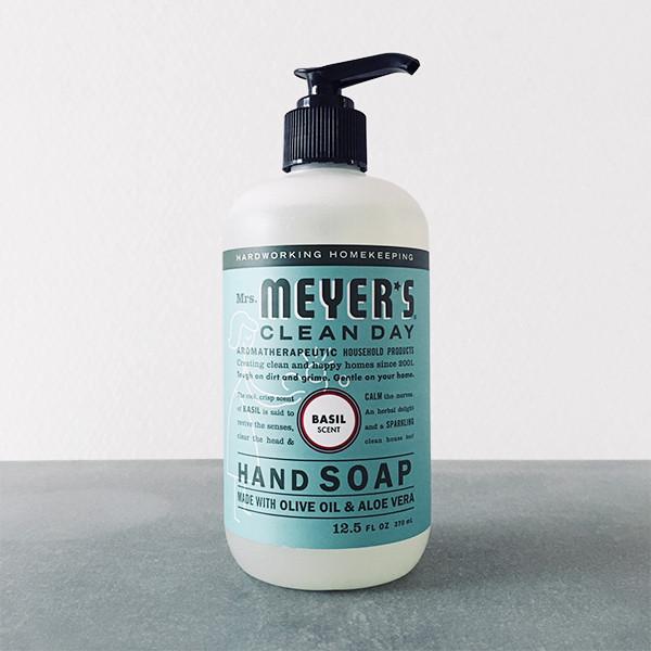 MEYER'S HAND SOAP (BASIL)