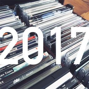 2017年に買ったCDを振り返ってみよう。