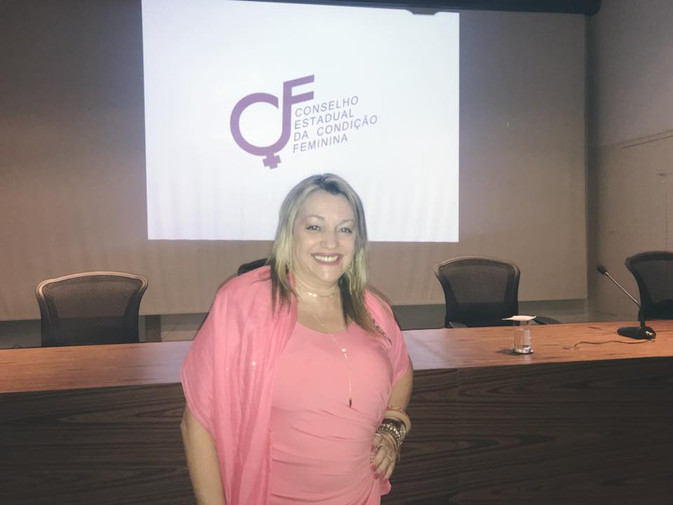 Dra. Bethe Valente toma posse como Conselheira da Condição Feminina.