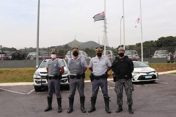 Operação Integrada Coordenada por Cooperação - Nível III           6° BPRr 2ª Cia  RODOANEL