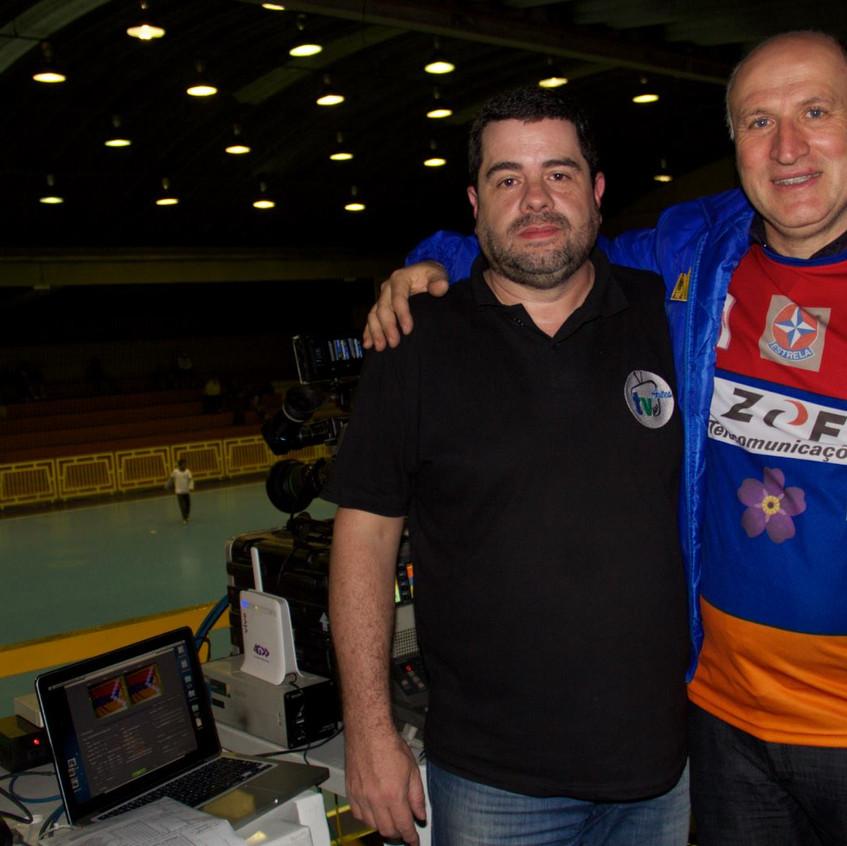 Luca Pizarro e Sarkis Karamekian