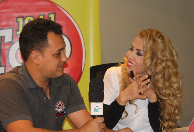 TV das Artes no lançamento do novo CD da cantora JOELMA.
