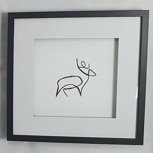 Gemsbok - handpainted