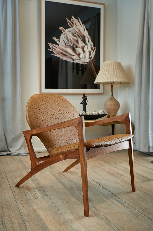 Angelina Armchair - Tan Brown