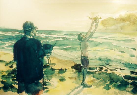 Los cazadores de olas