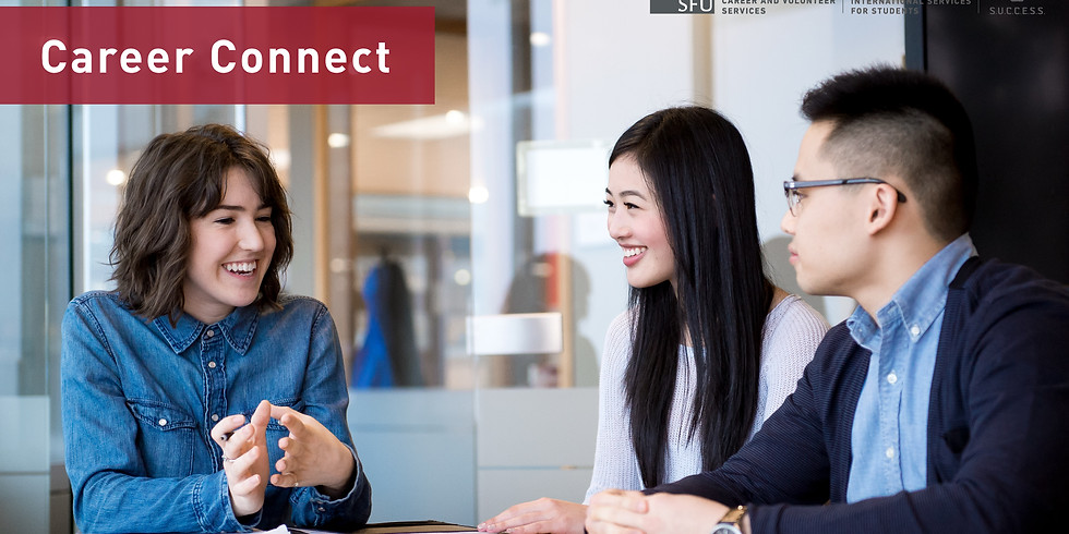 Career Connect - Meet Industry Professionals (Burnaby)