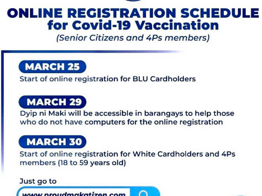 Online Registration For Covid-19 Vaccination