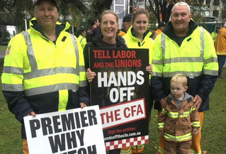 Tell Daniel Andrews – hands off the CFA!
