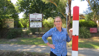 Wesburn Primary School still waiting for electronic speed limit sign