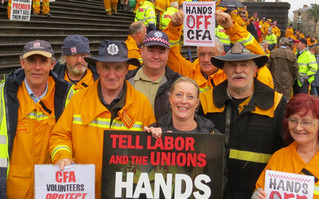 CFA volunteers receive another slap in the face