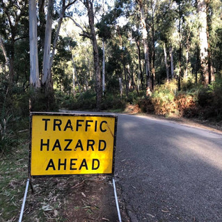 Finally – permanent repair to Badger Weir Picnic Area road
