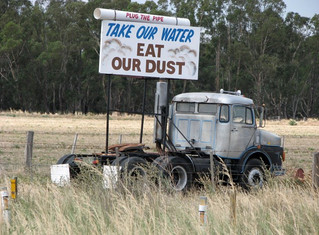10 years since Labor's north-south pipeline disaster failing country farmers