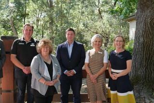 MP visit to Murrindindi Shire