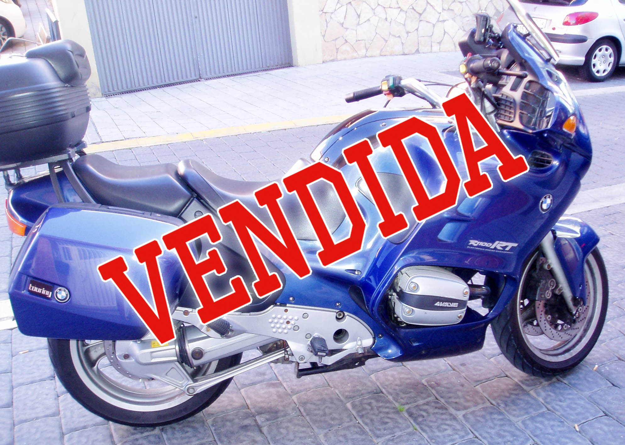 BMW R1100RT vendida