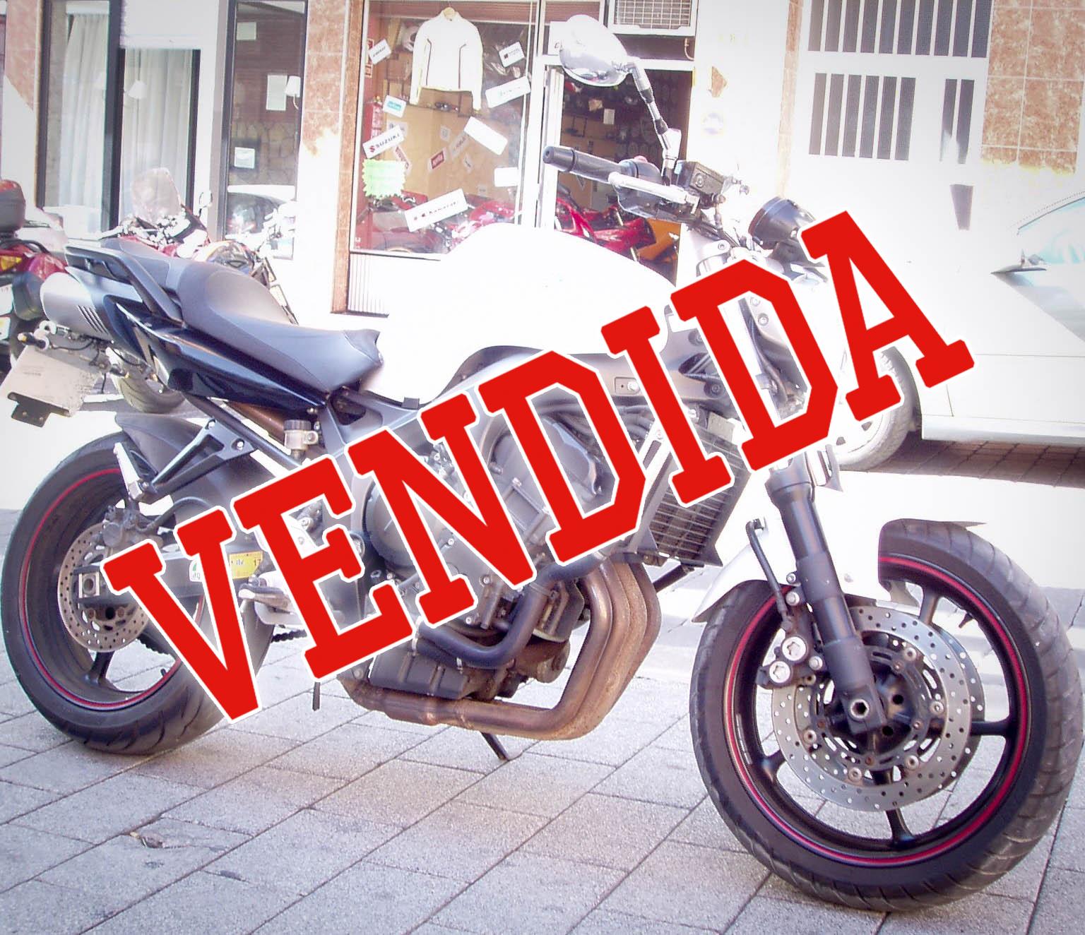 Yamaha FZ6N S2  vendida