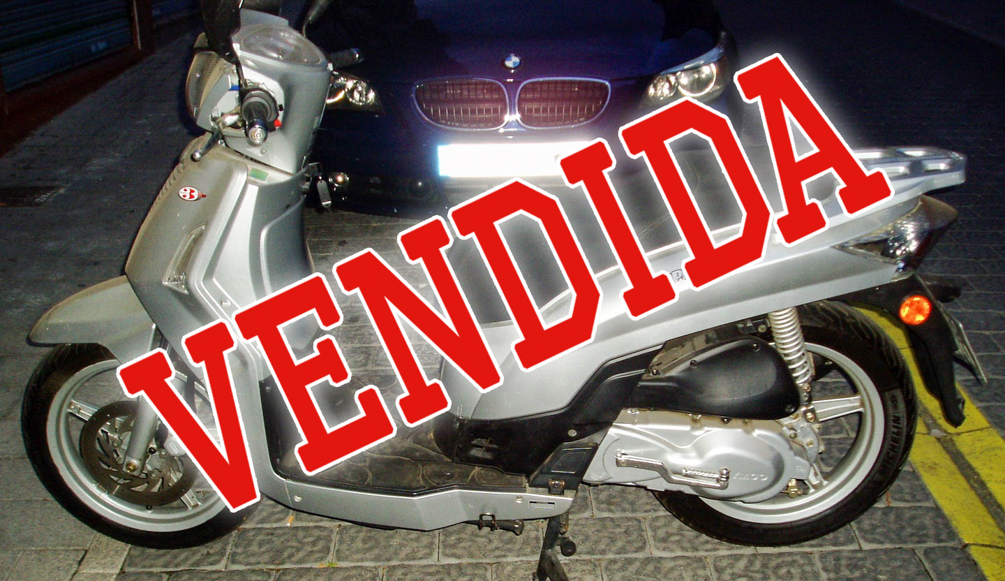 Kymco People 125 vendida