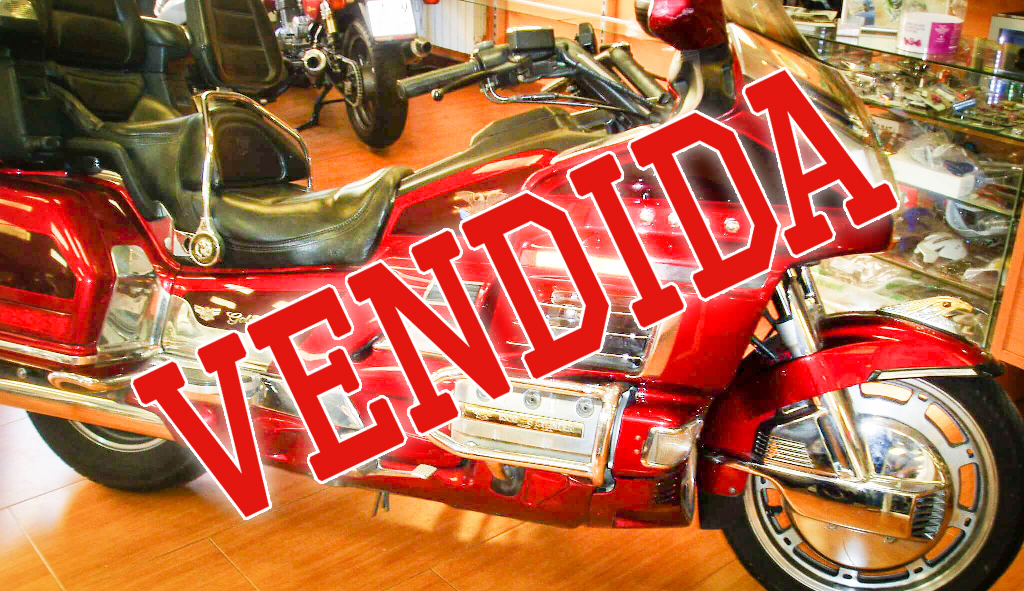 Goldwing 1500 vendida
