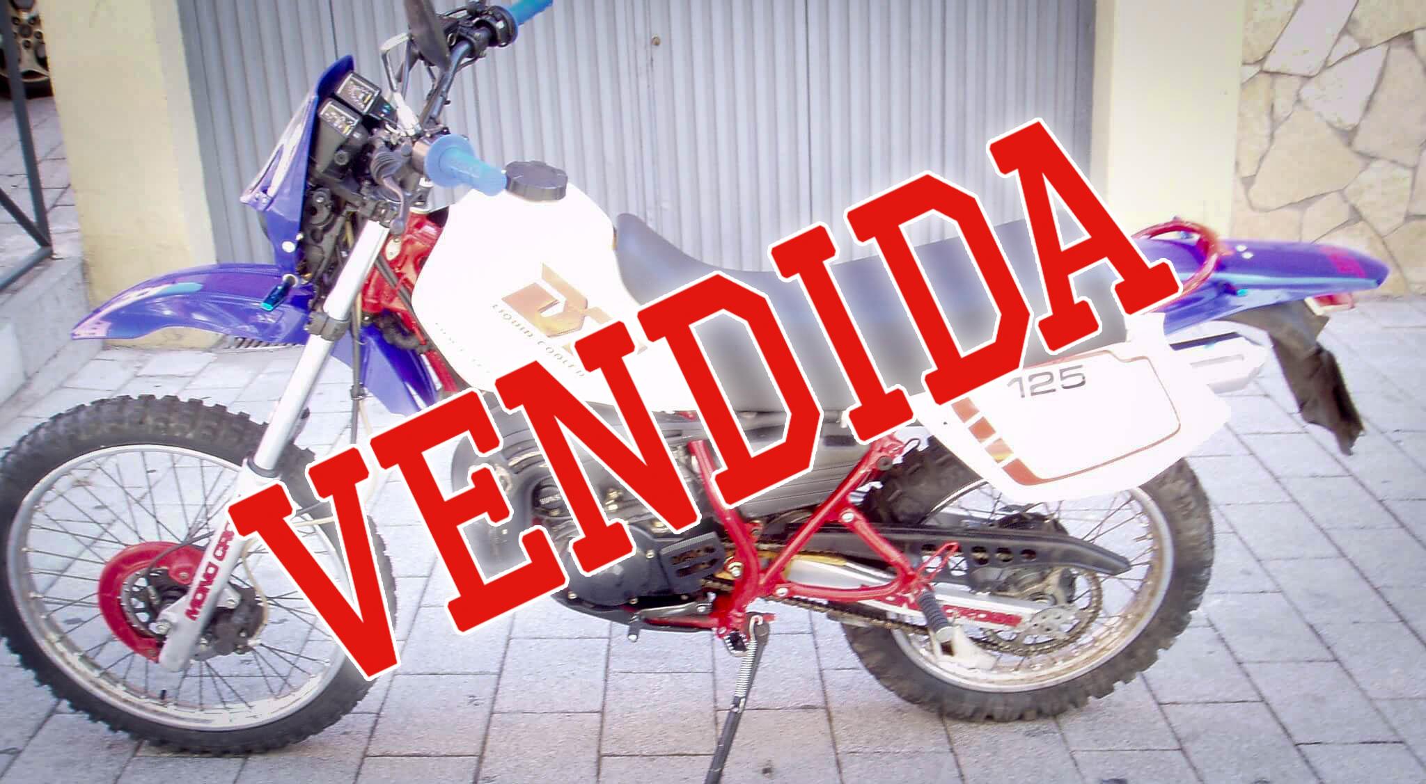 Yamaha Dt 125 vendida