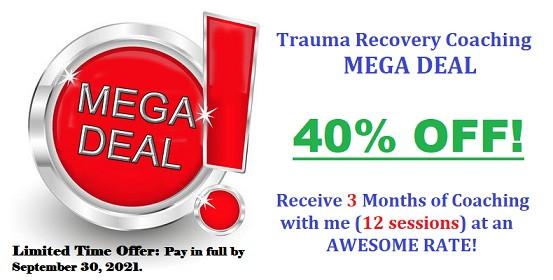MEGA DEAL for Trauma Recovery Coaching!