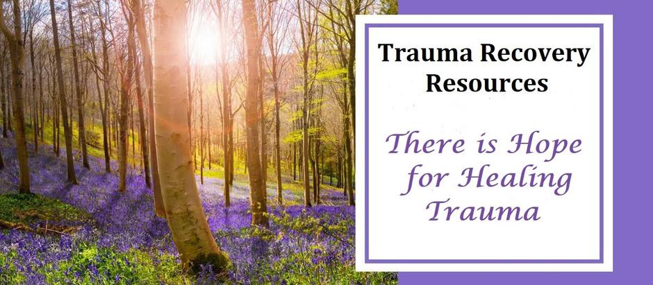 Trauma Recovery Resources
