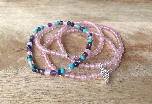 Petite Rose Quartz Bracelet