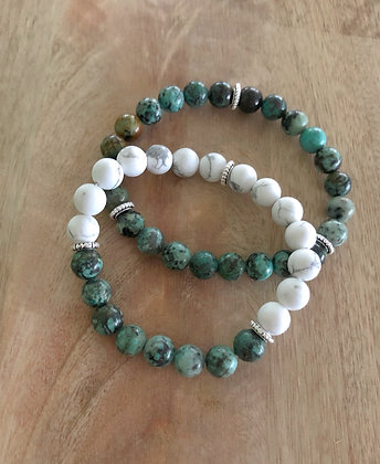 African Turquoise & Silver