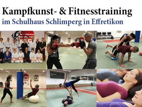 Das Programm steht: Tag der offenen Tür – Kampfkunst- und Fitnesstraining in Effretikon