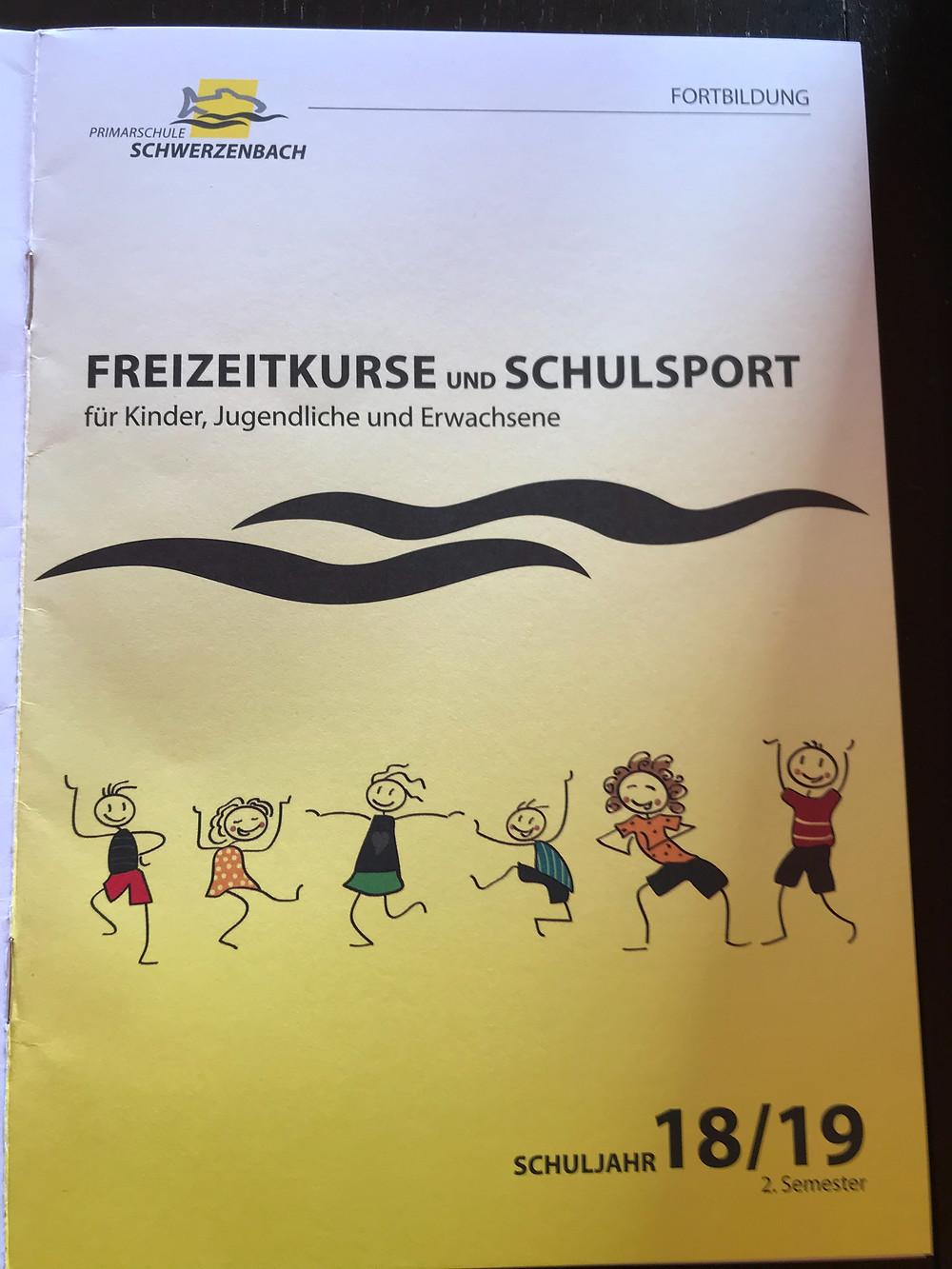 Freizeitkurse Schwerzenbach mit Nathalie Meyer bewegt