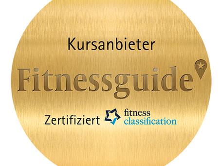 Fitness-Guide zertifiziert