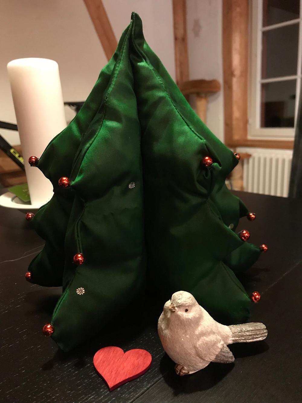 Weihnachtsbaum bei Nathalie Meyer bewegt Seegräben