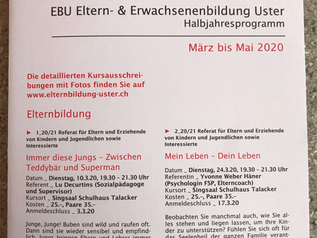 Atempowerkurs in Uster - Update
