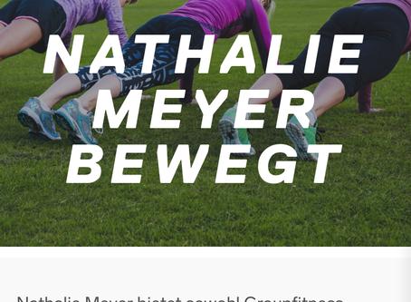 Nathalie Meyer bewegt mit dabei bei: myclubs mit Indoor und Outdoor Fitness in Bauma
