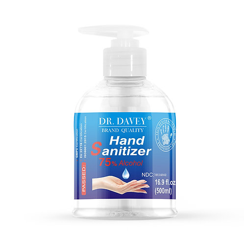 Dr. Davey Hand Sanitizer Gel (75% Alcohol)