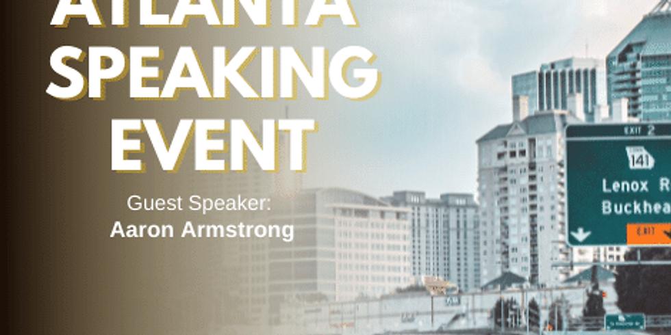 Atlanta Georgia Speaking Event (1)
