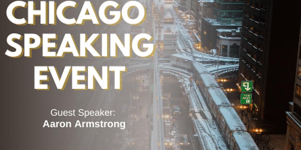 Chicago Speaking Event
